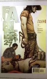 VERTIGO COMICS FABLES #27