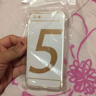 •brandnew• Iphone 5 White Shockproof Case