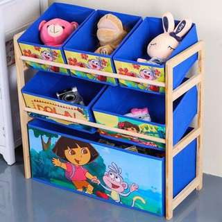 Free delivery kids toy rack