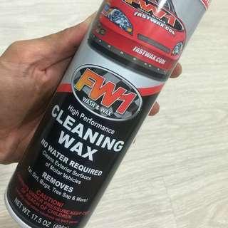 FW1 Wash & Wax - High Performance Cleaning Wax