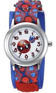 Marvel Boy's 'Emoji' Quartz Stainless Steel and Nylon Casual Watch