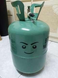 13L 氦氣 只用過2個氣球 最少還有一半