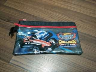 HotWheels stationery pouch