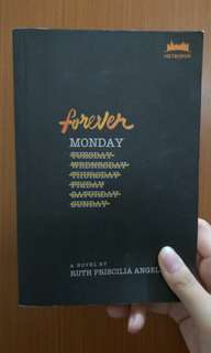 Novel Forever Monday by Ruth Priscilia Angelina