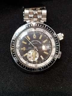 🚚 潛水系列 瑞士製 小牌子錶 手上鏈