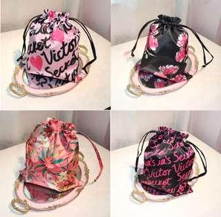 Victoria Secret Drawstring Bag