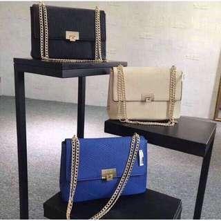Aldo Gold Strap Crossbody Bag