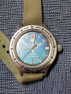 🚚 潛水 耍酷錶 自動上鏈
