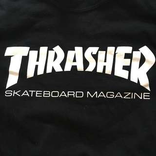 SMALL - Black THRASHER longsleeve