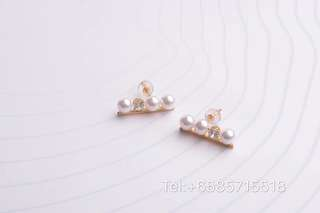 Balance Collection Akoya Cultured Pearl Earrings