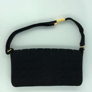 05f8ae35ac39 Chanel Jersey Shoulder Bag