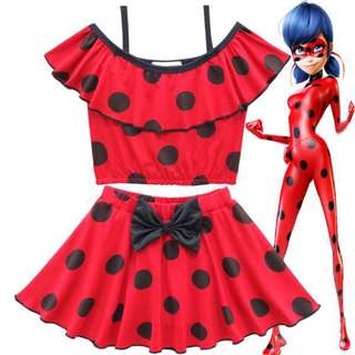 PO Miraculous Ladybug Swim Suit/ Swim Wear