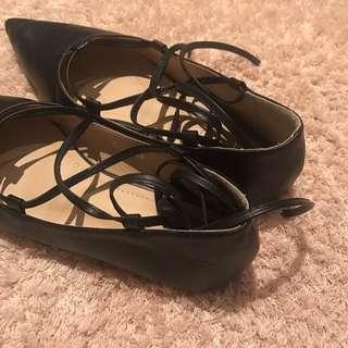 Bow Bow ballerina shoe