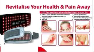 Se led belt infrared therapeutic pain and strains relief therapy