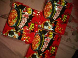 Samyang Fire Noodle (X2, Cheese Flavor)