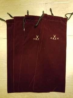 Arte 紅酒絲絨酒袋