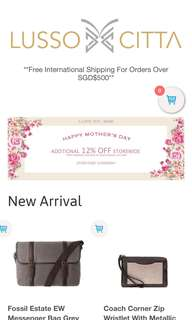 Mother's day sales started!