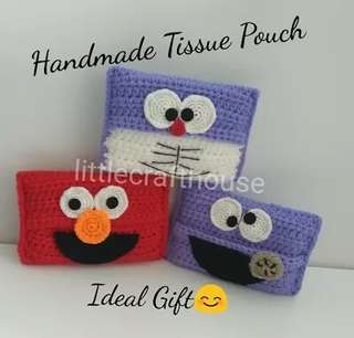 Cookie Monster Elmo Tissue Pouch