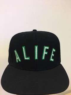 Alife 黑色snapback 九成新