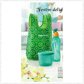 Ramadhan Set with Pouch (Hijau Suci)