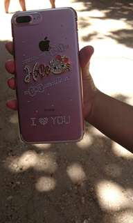 Casing iphone 7+ plus Hello kitty blink