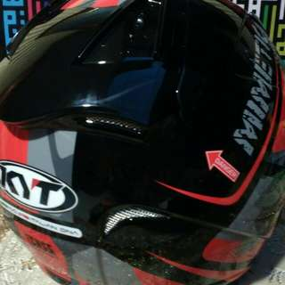 Helmet KYT Helcat Mimitec