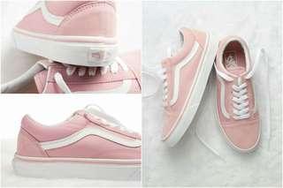 🚚 韓國限定款!!! 可愛的粉色vans