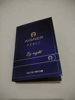 Vial Parfum Aigner Debut by Night 1,5ml EDP