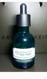 The body shop tea tree serum daily solution used