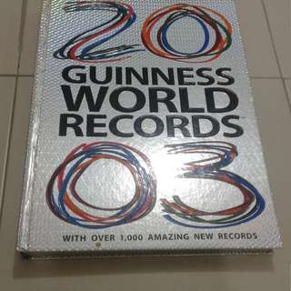 2003 Guiness World Records