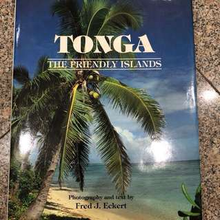 TONGA the Friendly Islands hardcover