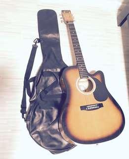 Guitar CASE 3/4 size