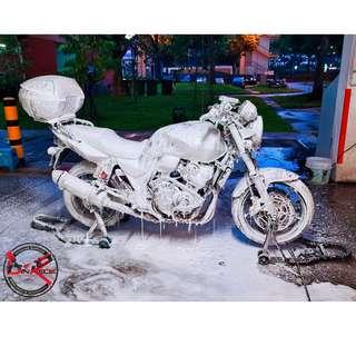 Bike Wash / Bike Grooming / Professional Detailing / Honda CB400 Revo Super 4