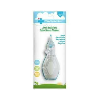 Anti-backflow nasal cleaner