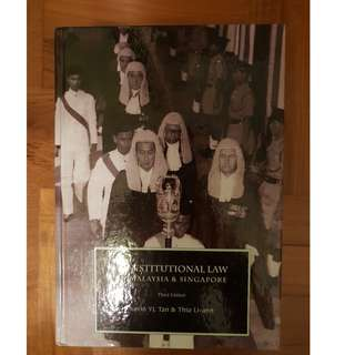 Constitutional Law in Malaysia and Singapore