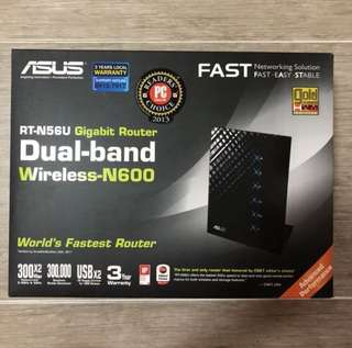 Asus Router Dual-band Wireless-N600