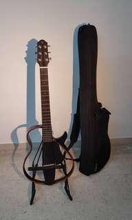 Yamaha SLG200S Translucent Black Silent Guitar