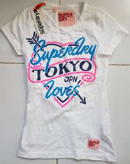 Authentic SuperDry Love Tokyo Japan Tee