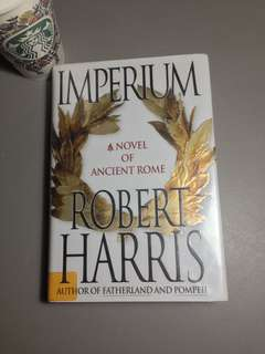 Robert Harris Imperium A Novel of Ancient Rome Hardback