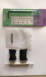 Custom For G Shock Mud Master GWG 1000 Nato/Zulu Starp Apadtor compatitbale strap width 22mm/24mm.Selling Adaptor Only not Strap.