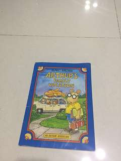 "Children Book ""Arthur's Family Vacation"""