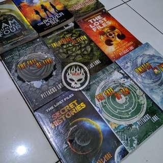 Novel I Am Number Four Lorien Legacies Pittacus Lore 9 buku tamat
