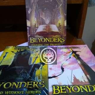 Novel Beyonders 3 buku tamat Brandon Mull Fablehaven