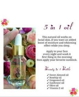 5 in 1 oil