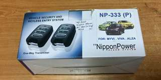 Nippon Power Alarm For Myvi / Viva / Alza