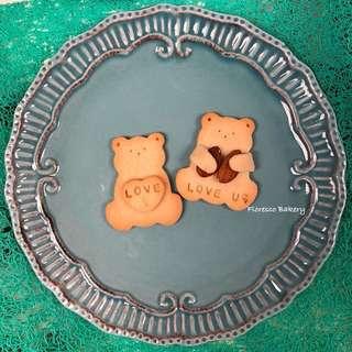 Bear Bear素曲奇 百日宴 婚宴回禮 散水餅 生日會