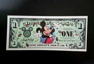 🇺🇸USA MICKEY DISNEY DOLLARS