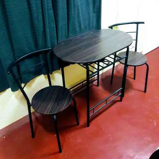 Small Dining Table and Chairs Set