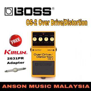 Boss OS-2 Over Drive/Distortion