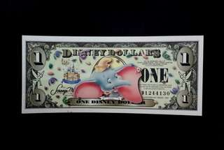 🇺🇸USA LITTLE ELEPHANT DISNEY DOLLARS